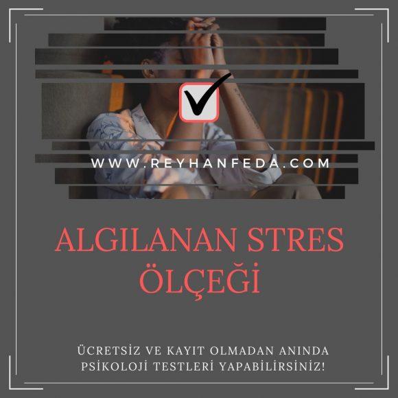 Stres Testi, bireyin algıladığı stres düzeyini ölçer.