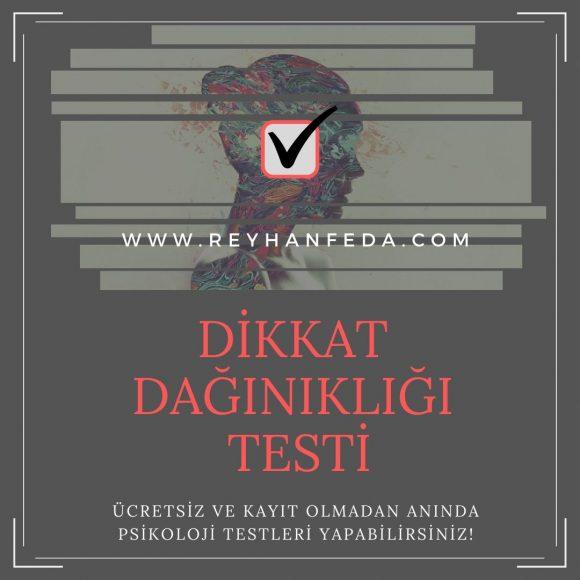 Dikkat Eksikliği Testi, bireylerin dikkat dağınıklığı semptomlarını ölçer.